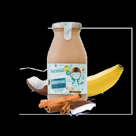 Sienna & Friends Smoothie Banane, Noix de Coco & Cannelle Bio