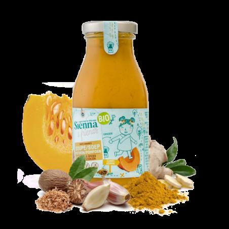Sienna & Friends Soupe au Potiron avec des Épices Bio