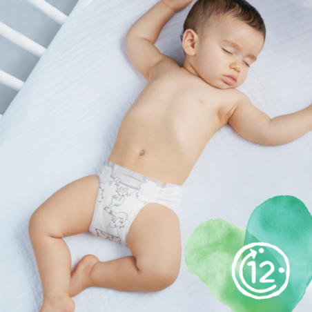 Pampers Pure protection Taille 1 50 pièces