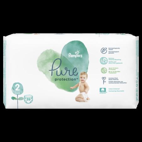 Pampers Pure protection Maat 2 39 stuks