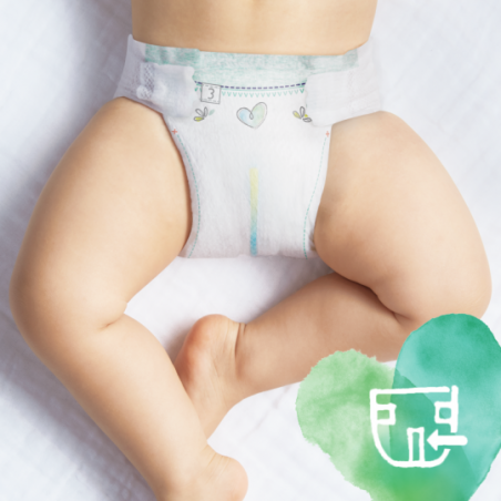 Pampers Pure protection Taille 3 31 pièces