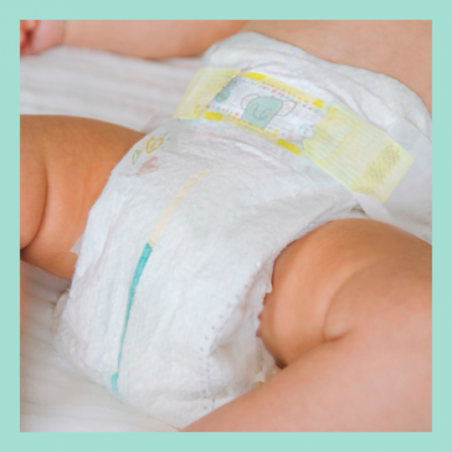 Pampers Premium protection Jumbo Taille 4 64 pièces