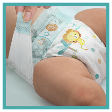 Pampers Baby dry maxi giant Maat 4 92 stuks
