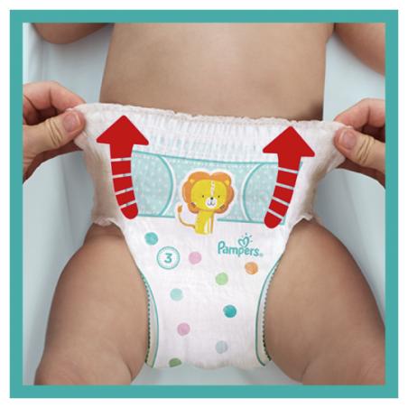 Pampers Baby dry PANTS maxi geant Taille 6 66 pièces