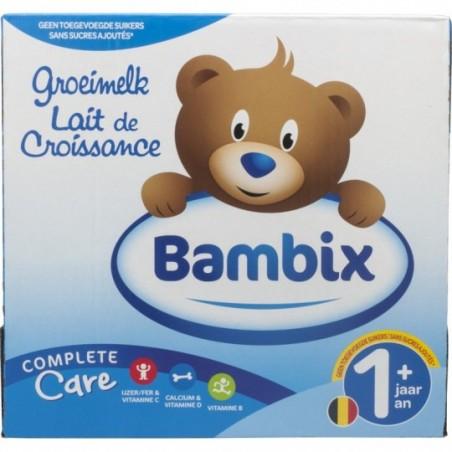 Bambix Groeimelk natuur 1+ 6 stuks