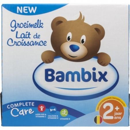 Bambix Groeimelk natuur 2+ 6 stuks