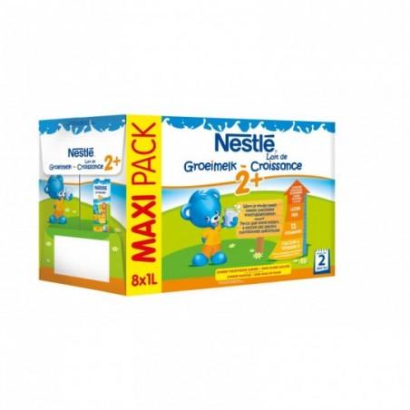 Nestle Lait de croissance 2+ 8 pièces