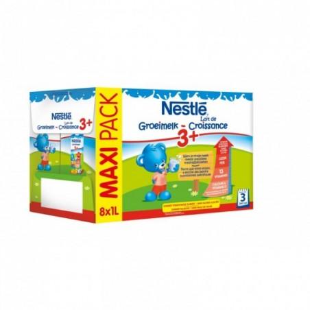 Nestle Lait de croissance 3+ 8 pièces