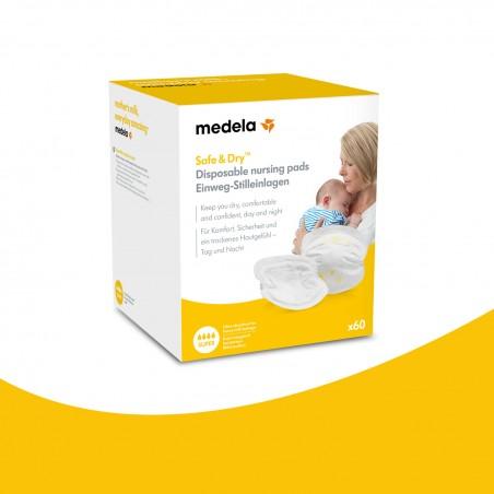 Medela Coussinets d'allaitement jetables 30 pièces