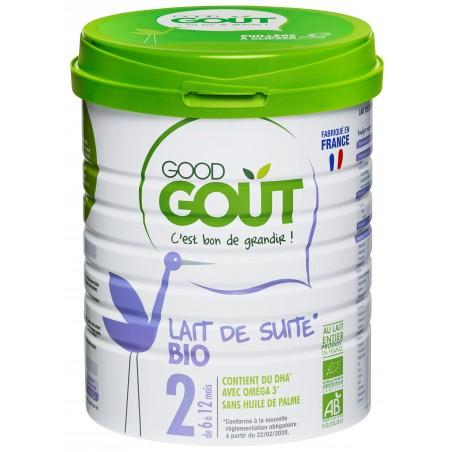 Good Gout Lait infantile 2  Bio