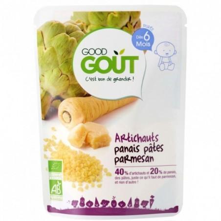 Good Gout Artichauts panais pâtes parmesan  Bio