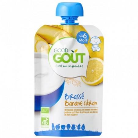 Good Gout Brassé banane citron Bio 10 pièces