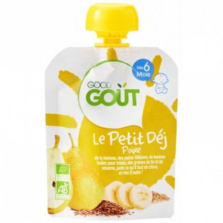 Good Gout Petit déjeuner poire  Bio