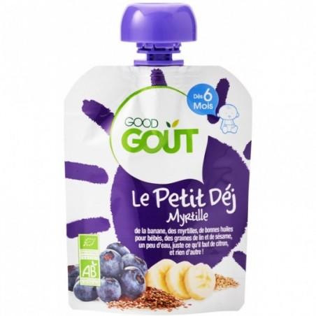Good Gout Petit déjeuner myrtille  Bio