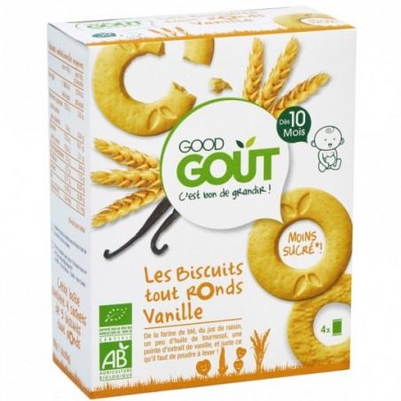 Good Gout Biscuits tout ronds à la vanille  Bio