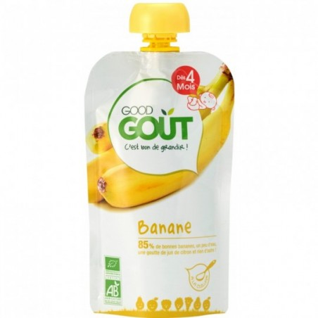Good Gout Banaan Bio 10 stuks
