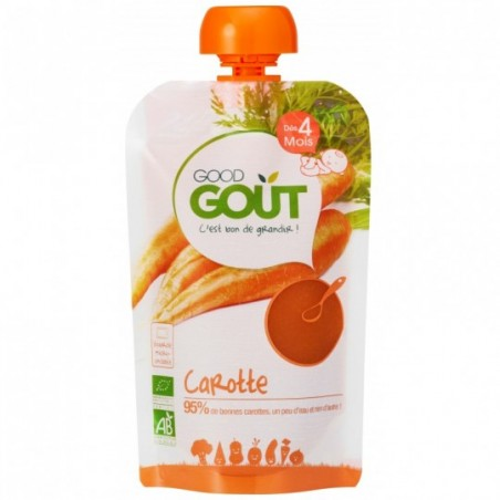 Good Gout Carotte 10x120g Bio