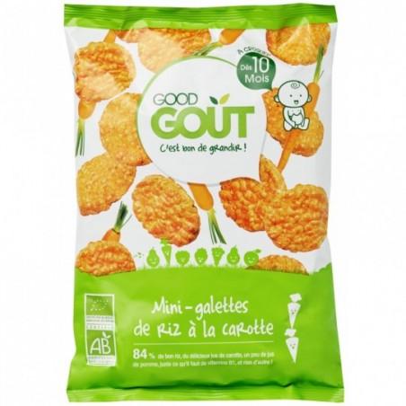 Good Gout Mini rijstwafel met wortel Bio