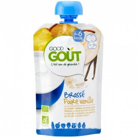 Good Gout Brassé poire vanille Bio 10 pièces