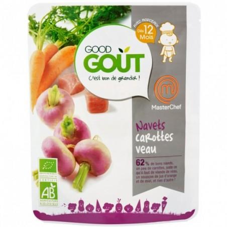 Good Gout Navets carottes veau (MasterChef)  Bio