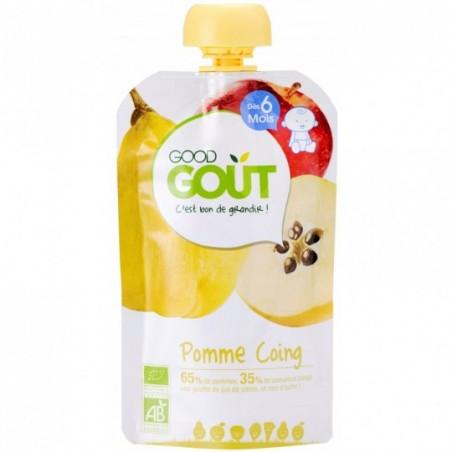Good Gout Pomme coing  Bio 10 pièces