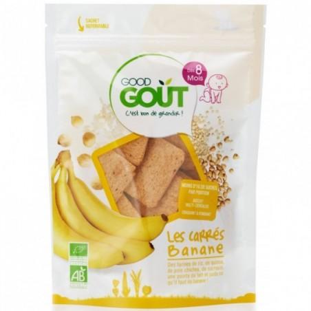 Good Gout Vierkantjes banaan Bio