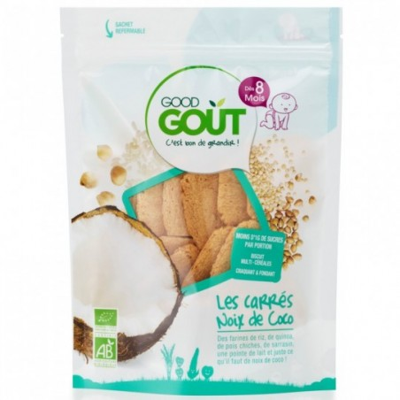 Good Gout Carré coco Bio