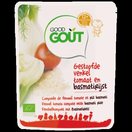 Good Gout Compotée fenouil riz basmati  Bio