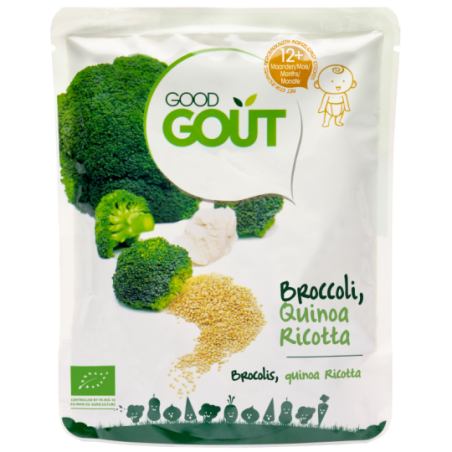 Good Gout Brocolis quinoa ricotta Bio