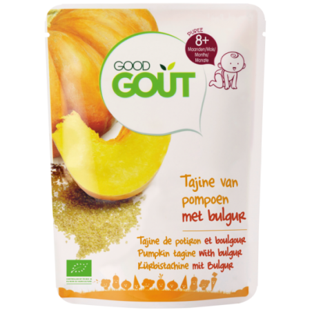 Good Gout Pompoen tajine en bulgur Bio