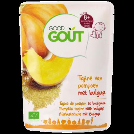 Good Gout Tajine de potiron et boulgour  Bio