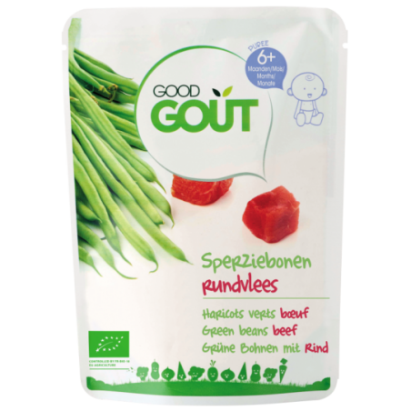 Good Gout Haricots verts boeuf  Bio