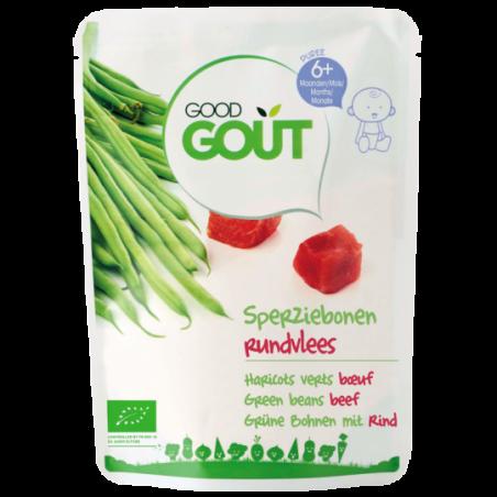 Good Gout Princessenboontjes met rundvlees Bio