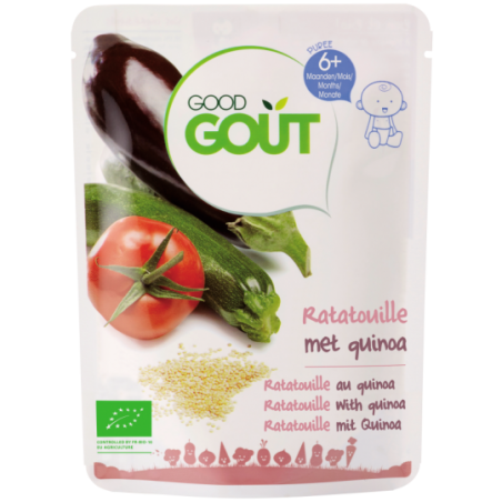 Good Gout Ratatouille met quinoa Bio