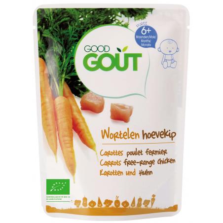 Good Gout Carottes Poulet Fermier  Bio