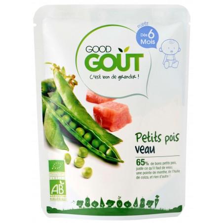 Good Gout Petits pois veau  Bio