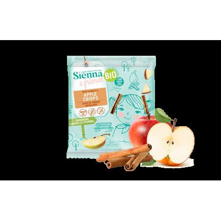 Sienna & Friends Chips de Pommes & Cannelle Bio