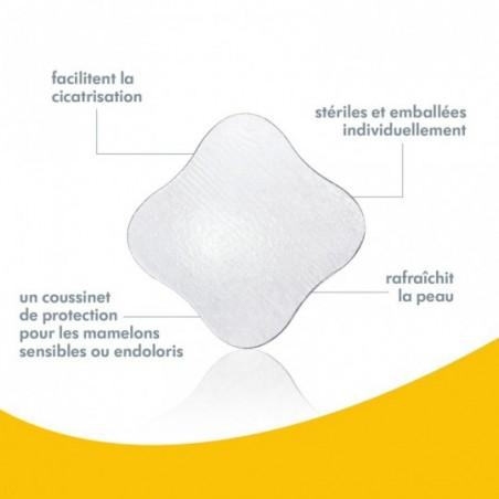 Medela Compresses hydrogel 4 pièces