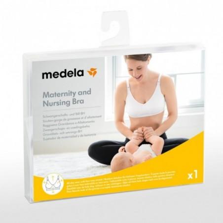 Medela Soutien-gorge de grossesse et d'allaitement Taille L Noir