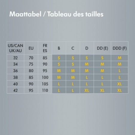 Medela Soutien-gorge Comfy Taille M Noir