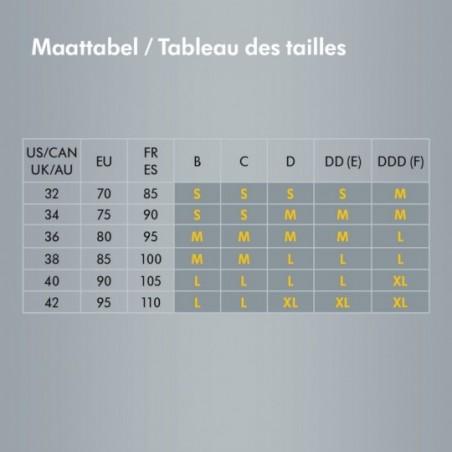 Medela Soutien-gorge Comfy Taille L Noir