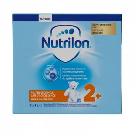 Nutrilon 2+ Lait de Croissance dès 2 ans Liquide 6x1L