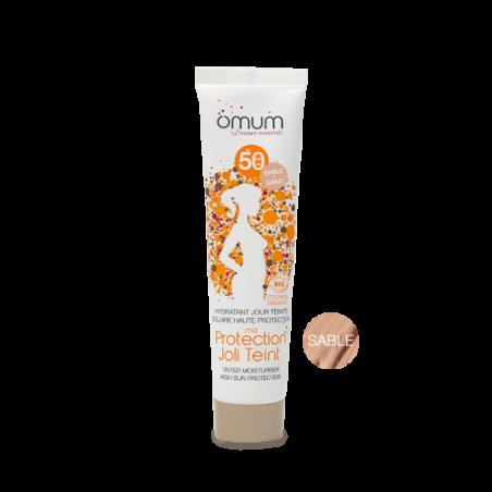 Omum Ma Protection Joli Teint Crème hydratante Jour SPF 50+ Teinte sable