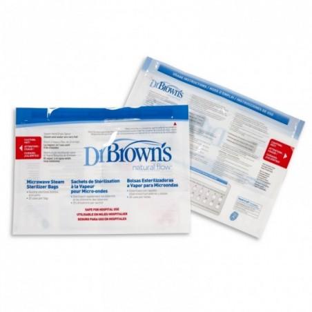 Dr. Brown's Magnetron sterilisatiezakjes 5 stuks