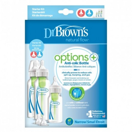 Dr. Brown's Options+ Startpakket standaardfles