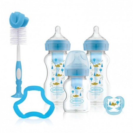 Dr. Brown's Options+ Anti-colic Giftset Brede halsfles