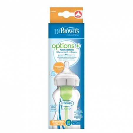 Dr. Brown's Options + Brede Halsfles  270ml