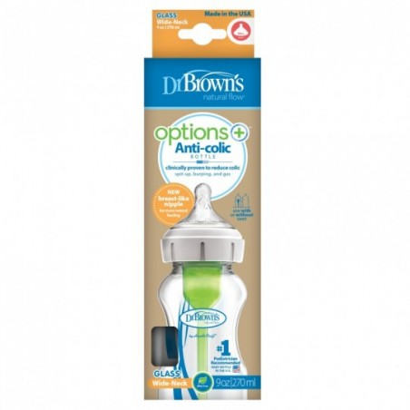 Dr. Brown's Options+ biberon Col large 270ml