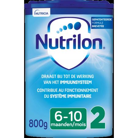 Nutrilon 2 Lait de suite bébé dès 6M poudre 800g
