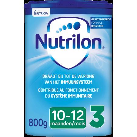 Nutrilon 3 Lait de suite bébé dès 10M poudre 800g
